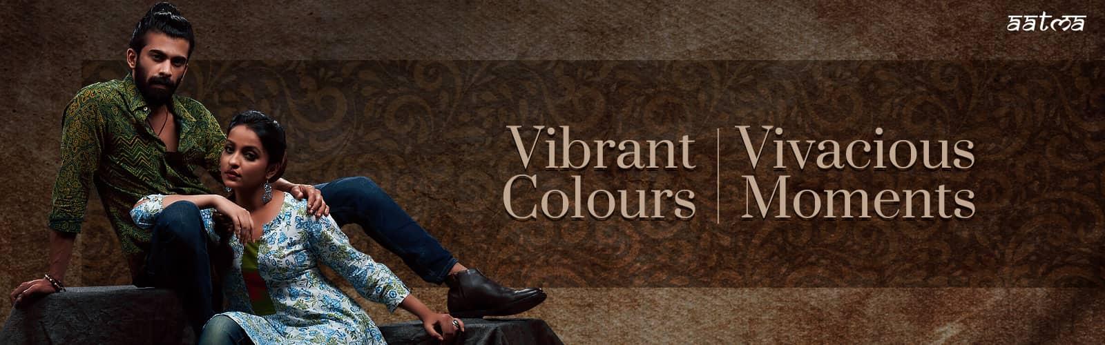 Vibrant Colours Ethnic Cloths